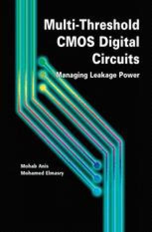 Multi-Threshold CMOS Digital Circuits