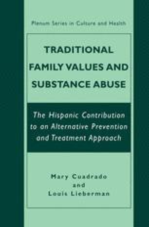 Traditional Family Values and Substance Abuse