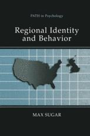 Regional Identity and Behavior