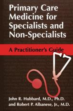 Primary Care Medicine for Specialists and Non-Specialists