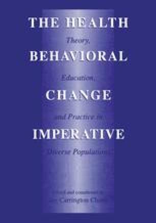 The Health Behavioral Change Imperative