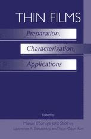 Thin Films: Preparation, Characterization, Applications