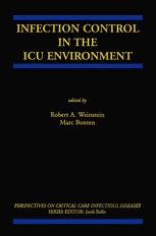 Infection Control in the ICU Environment
