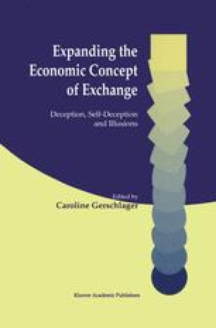 Expanding the Economic Concept of Exchange