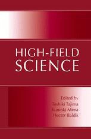 High-Field Science