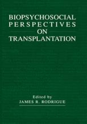 Biopsychosocial Perspectives on Transplantation