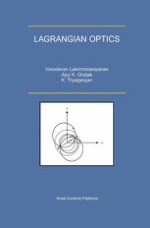 Lagrangian Optics