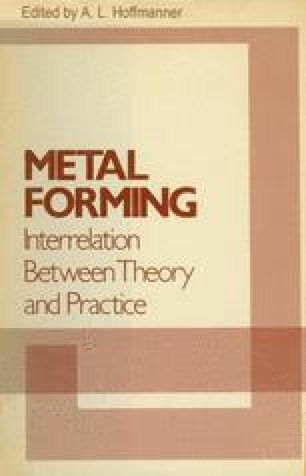 Metal Forming: Interrelation Between Theory and Practice