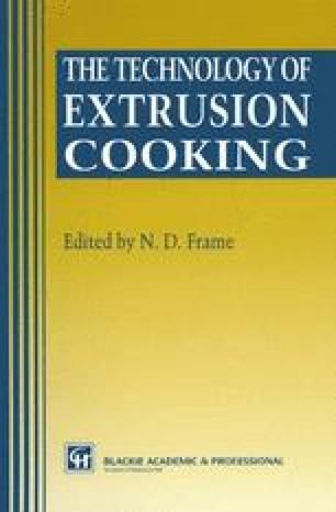 Snack food extrusion | SpringerLink