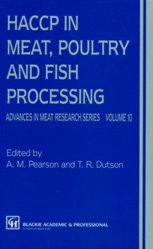 HACCP in Meat, Poultry, and Fish Processing