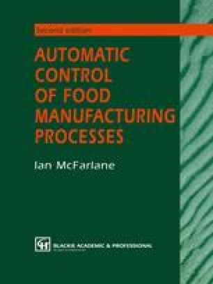 Automatic Control of Food Manufacturing Processes