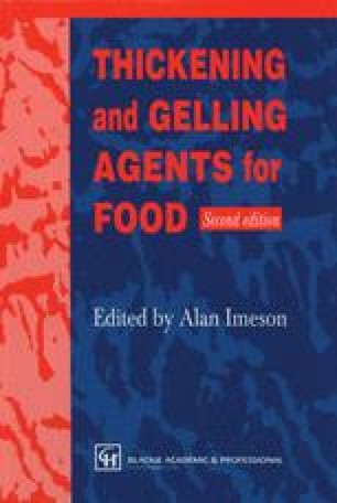 Thickening and Gelling Agents for Food