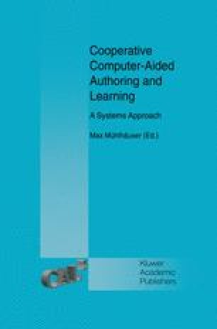 Cooperative Computer-Aided Authoring and Learning