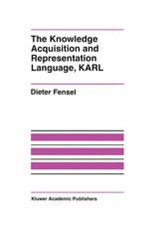 The Knowledge Acquisition and Representation Language, KARL