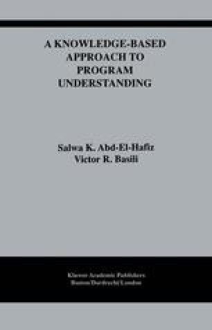 A Knowledge-Based Approach to Program Understanding