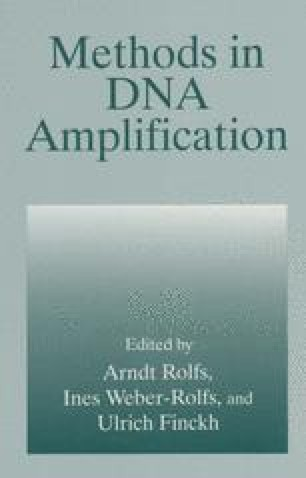 Methods in DNA Amplification