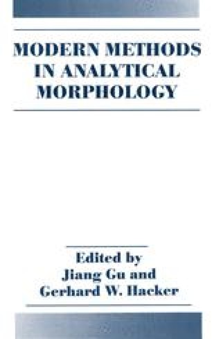 Modern Methods in Analytical Morphology