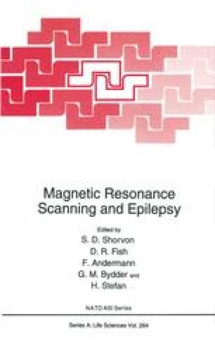 Magnetic Resonance Scanning and Epilepsy