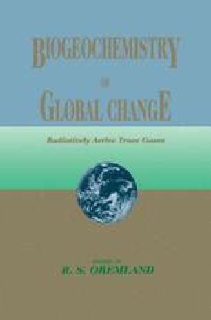 Biogeochemistry of Global Change