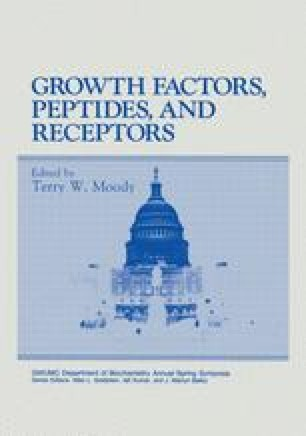 Growth Factors, Peptides and Receptors