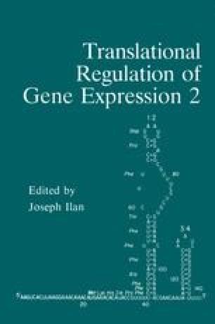 Translational Regulation of Gene Expression 2
