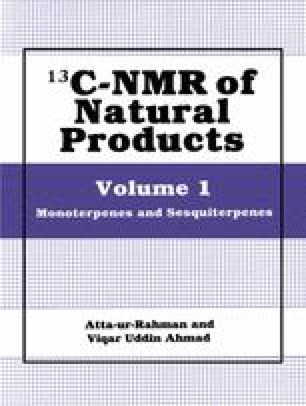 13C-NMR of Natural Products
