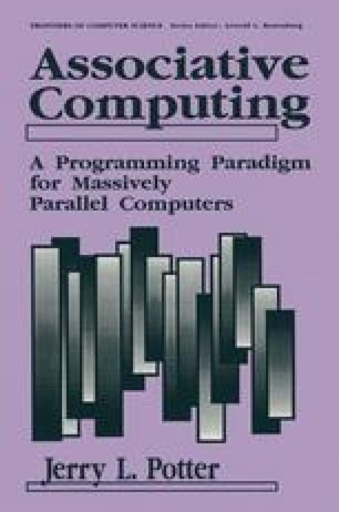 Associative Computing