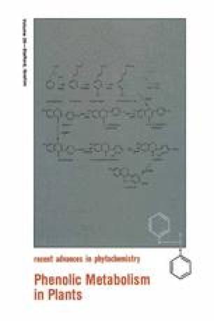 Phenolic Metabolism in Plants