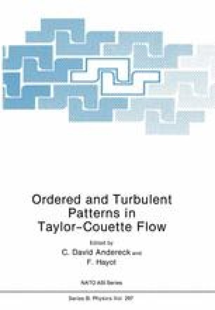 Ordered and Turbulent Patterns in Taylor-Couette Flow