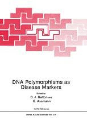 DNA Polymorphisms as Disease Markers