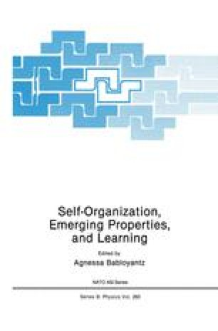 Self-Organization, Emerging Properties, and Learning