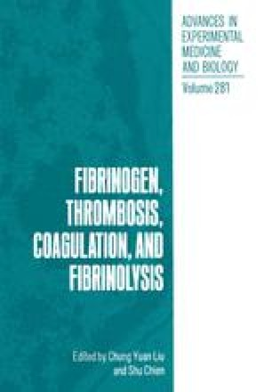 Fibrinogen, Thrombosis, Coagulation, and Fibrinolysis