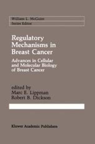 Regulatory Mechanisms in Breast Cancer