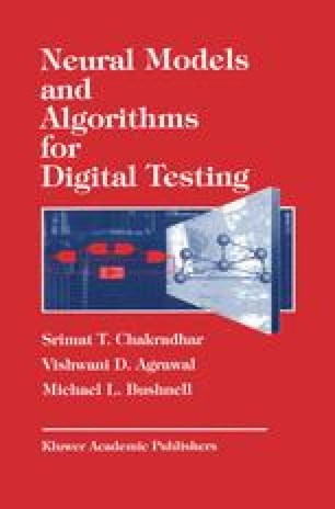 Neural Models and Algorithms for Digital Testing