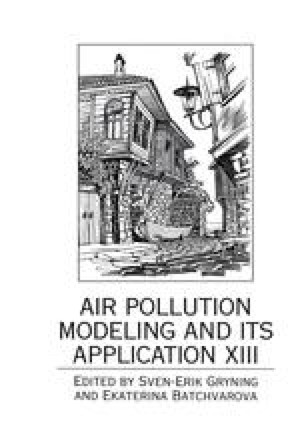 Air Pollution Modeling and Its Application XIII