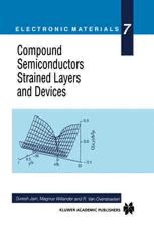 Compound Semiconductors Strained Layers and Devices