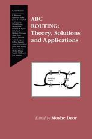 Polyhedral Theory for Arc Routing Problems | SpringerLink