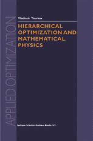 Hierarchical Optimization and Mathematical Physics