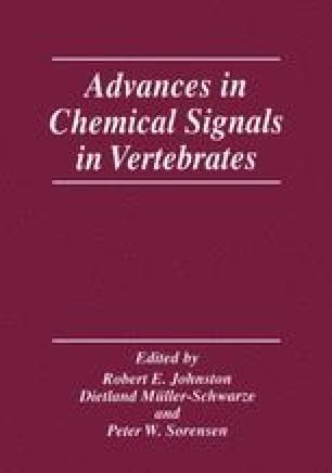 Advances in Chemical Signals in Vertebrates