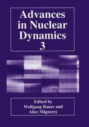 Advances in Nuclear Dynamics 3