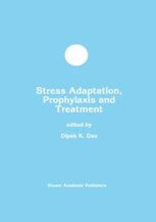 Stress Adaptation, Prophylaxis and Treatment