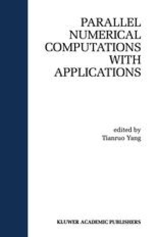 Parallel Numerical Computation with Applications