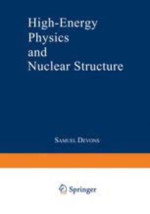 High-Energy Physics and Nuclear Structure