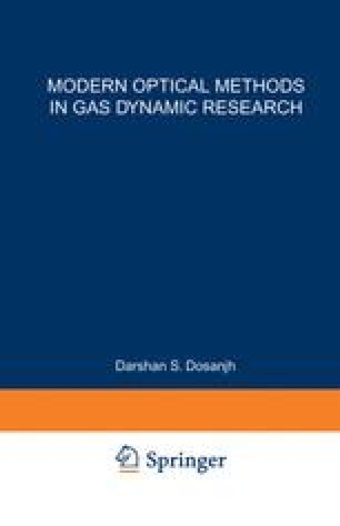 Modern Optical Methods in Gas Dynamic Research