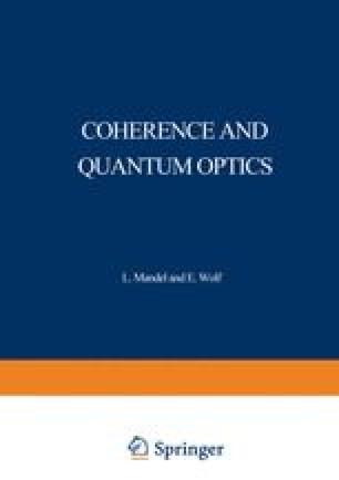 Coherence and Quantum Optics