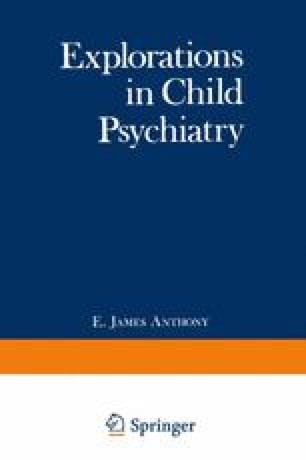 A Model For The Investigation Of Psychiatric Disorders Of Childhood