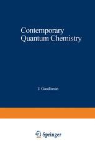 Contemporary Quantum Chemistry