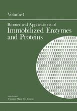 Biomedical Applications of Immobilized Enzymes and Proteins