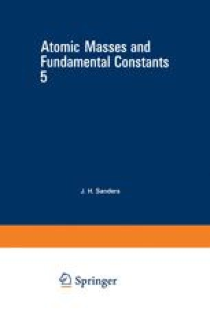 Atomic Masses and Fundamental Constants 5