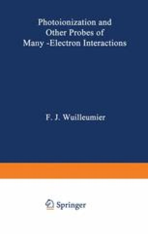 Photoionization and Other Probes of Many - Electron Interactions